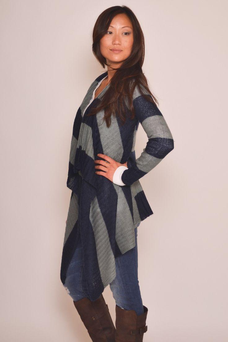Striped Cardi   Kariella Goods   Pinterest
