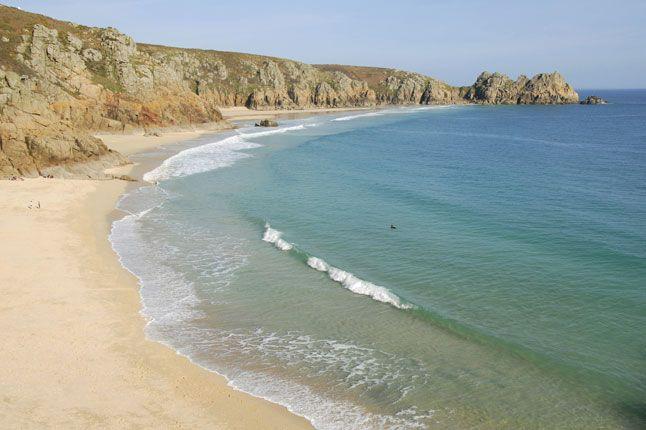 Best Beaches in Britain | Pedn Vounder Beach, Cornwall,   (Condé Nast Traveller)