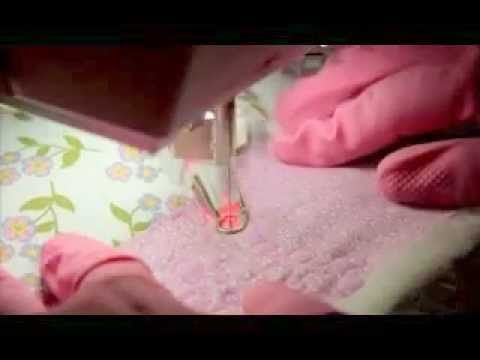 """Una pequeña demostración de acolchado libre a máquina con la técnica """"stippling"""" y consejos para iniciarte. Si tienes una máquina de coser doméstica también ..."""