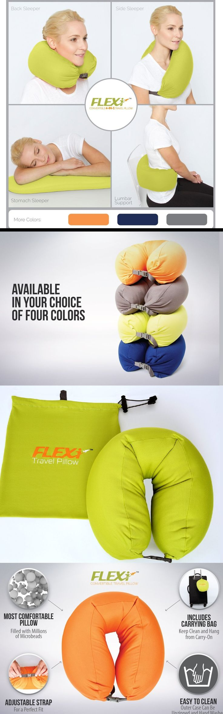 FLEXi 4-in-1 Convertible Travel Pillow
