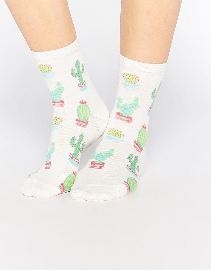ASOS Cactus Ankle Socks