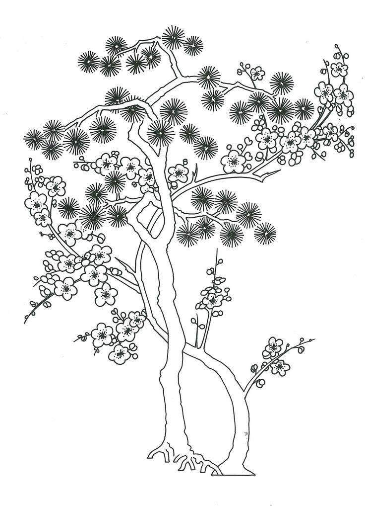 free asian coloring pages - photo#47
