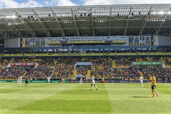 Dynamo Dresden enthüllte Ehrenspielführer-Galerie im DDV-Stadion. Die Spielstätte der SG Dynamo Dresden hat einen neuen, weithin sic ...