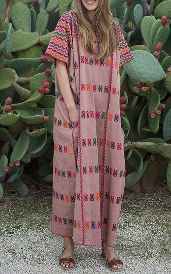 Pippa Holt Kaftans Spring Summer 2016 Look 10 on Moda Operandi