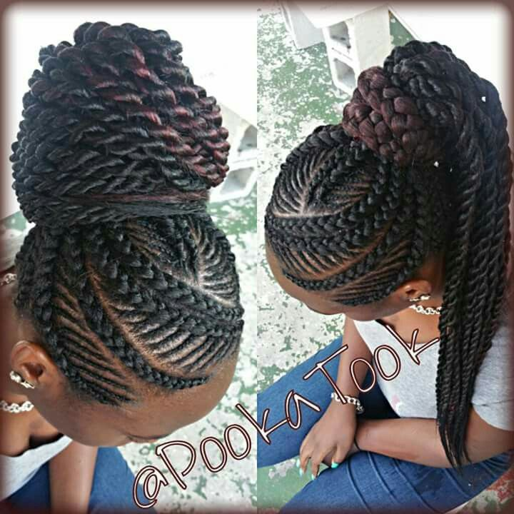 Awe Inspiring 1000 Images About Cornrow Styles For Little Girls On Pinterest Hairstyle Inspiration Daily Dogsangcom