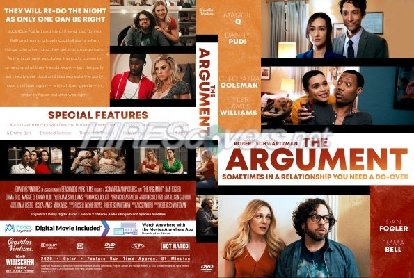 DVD Cover Custom DVD covers BluRay label movie art - DVD CUSTOM Covers - A / Argument, The (2020)