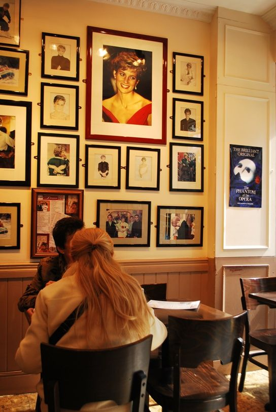 Princess Diana Memorial - the Cafe Diana Coffee Shop in London