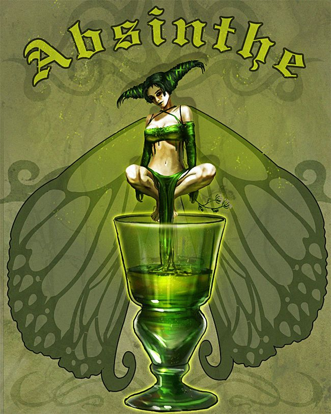Absinthe Green Fairy Art - THIS ONE!!! - I agree!