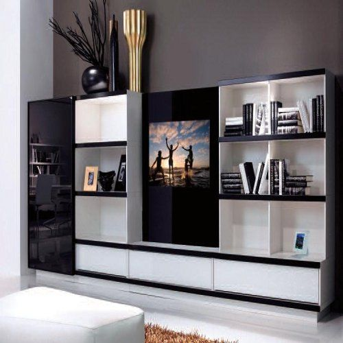 There are also hanging tv stand designs for your television. This design is very simple and can be use for your bedroom.