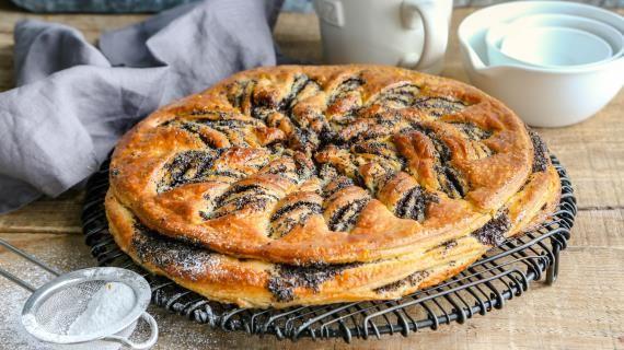 Пирог с маком, пошаговый рецепт с фото