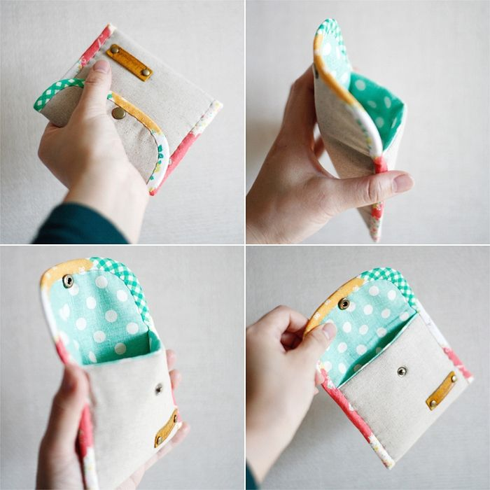 Easy Padded Coin Purse Tutorial