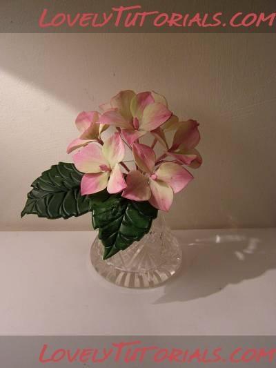 Hydrangea flower tutorials