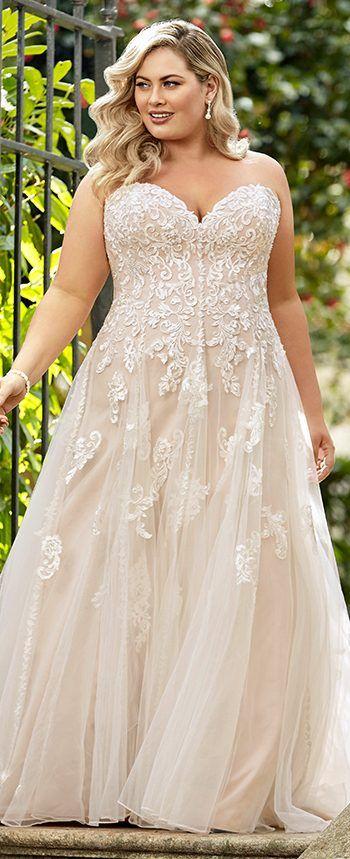 ccbce4a7cdf Plus Size Y11949 Adrienne by Sophia Tolli. Sophia Tolli Wedding Dresses 2019  ...