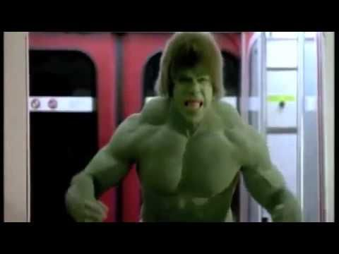 The Hulk on the Skytrain - Vancouver, BC Canada