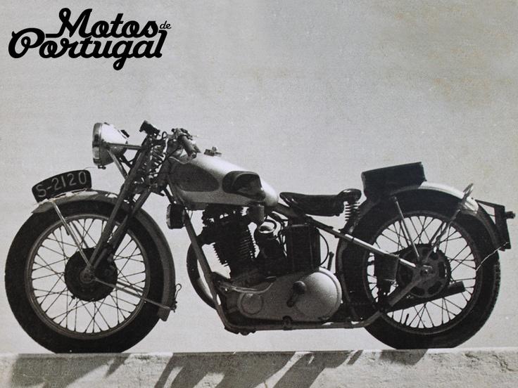 Vintage Nacional SMC Turismo 500 (Made in Portugal)