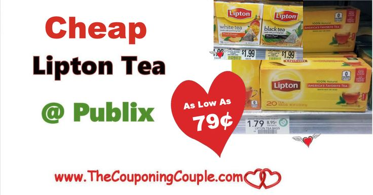 Cheap Deals On Lipton Tea Bags ~ As Low As $0.79 @ Publix through 1/5/18. Be sure to ad this deal to your shopping lists.  Click the link below to get all of the details ► http://www.thecouponingcouple.com/cheap-deals-on-lipton-tea-bags-publix-through-1-5-18/ #Coupons #Couponing #CouponCommunity  Visit us at http://www.thecouponingcouple.com for more great posts!