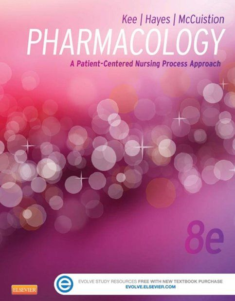 Pharmacology A Patient-Centered Nursing Process Approach 8th edition  ( PDF , eBook ) sold by Textbookland. Shop more products from Textbookland on Storenvy, the home of independent small businesses all over the world.