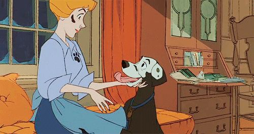 "*ANITA & PERDITA ~ 101 Dalmatians, 1961 ....""And Perdy, oh my darling."""
