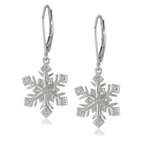 Accessories ❤ liked on Polyvore featuring jewelry and snowflake jewelry