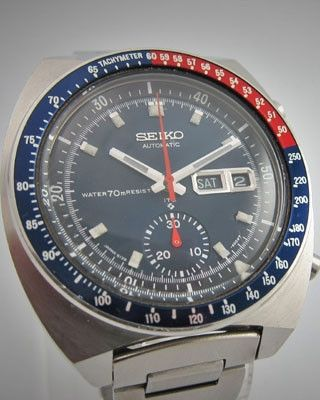 SEIKO AUTOMATIC CHRONOGRAPH Vintage Watch