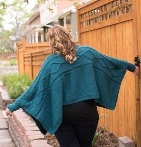 Madison Poncho Knitting Kit
