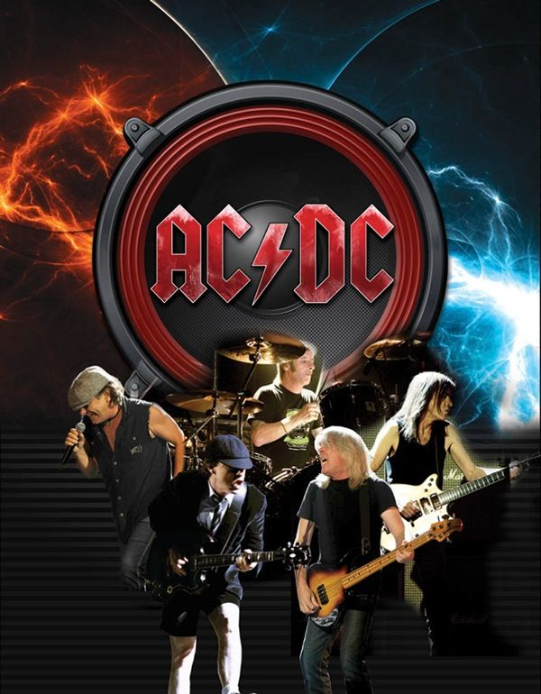 AC/DC on Behance