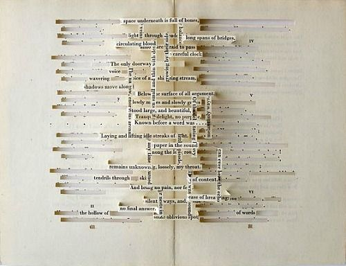 """Artist: MAR ARZA ""Vertebrae"" from the book 'The silent pool' (2009)"