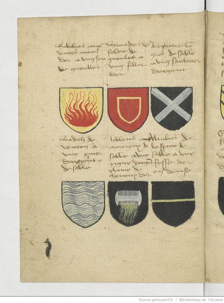 Ce sunt les noms armes et blasons des chevaliers - Blason chevalier table ronde ...