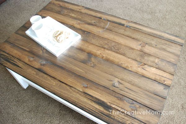 DIY Plank Table