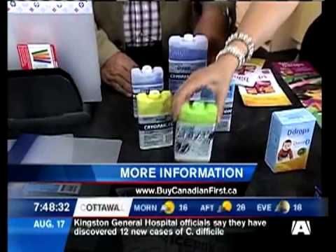 Buy Canadian First on CTV's Morning Live Ottawa: Part 1 Back-to-School made in Canada - August 2011