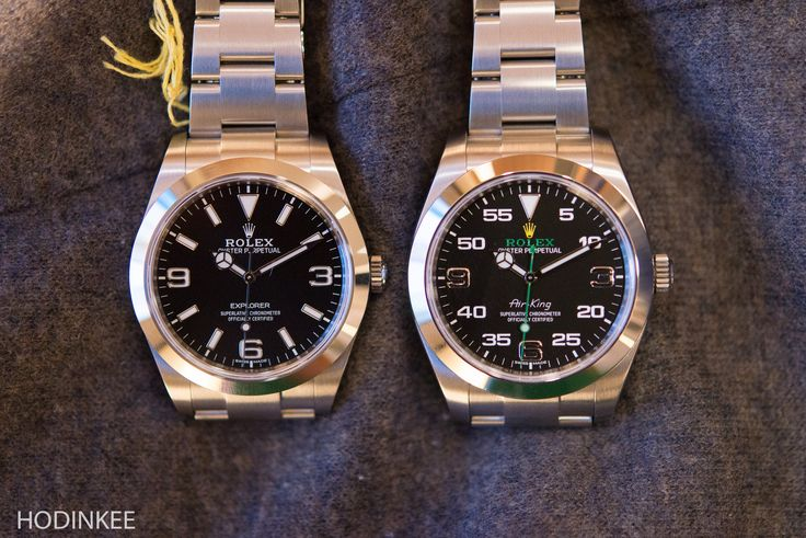 Some Quick Thoughts On The New Rolex Air-King Versus The New Explorer (Live Pics, Official Pricing)