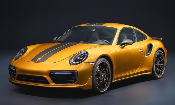 Porsche 991 Turbo S Exclusive (2017)