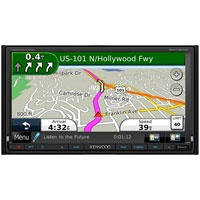 """Kenwood 6.95"""" 2-DIN Multimedia DVD Receiver wi (DNX-7190HD / DNX7190)"""