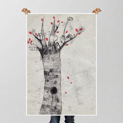 Poster by Chiara Armellini from Buru-Buru