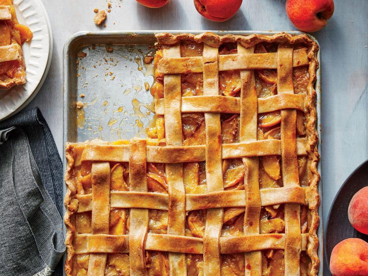 The next time you need a dessert for a crowd—backyard barbecue, picnic, block party, or potluck—think slab pie. This version pairs juicy ...