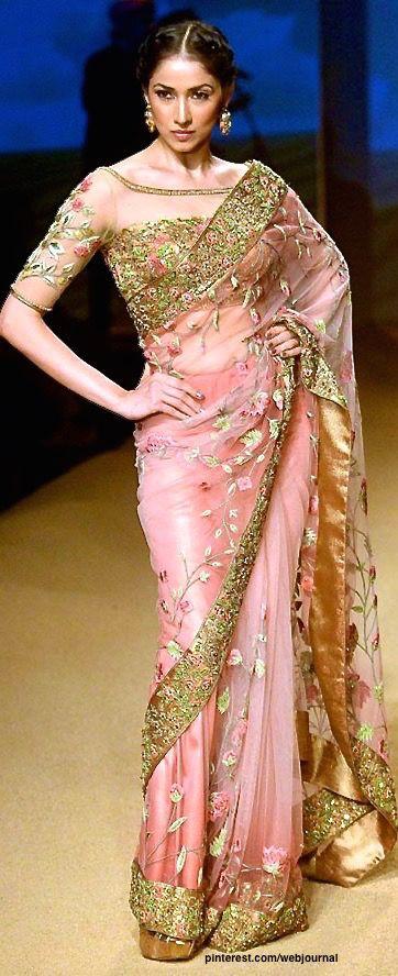 Ashima Leena design at Indian Bridal Fashion Week 2014.