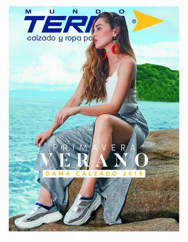 17d271f9 Nuevo catálogo Mundo Terra Primavera Verano 2019 de Calzado para Dama. Son  más de 260