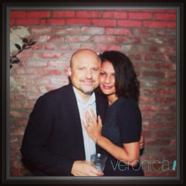 Enrico & Rosanna at the Premier of Veronica Mars LA