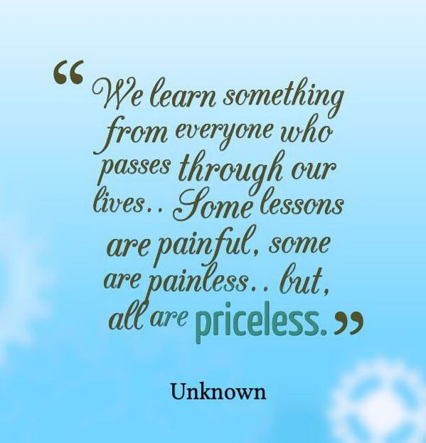 quotes about learning lessons - photo #40