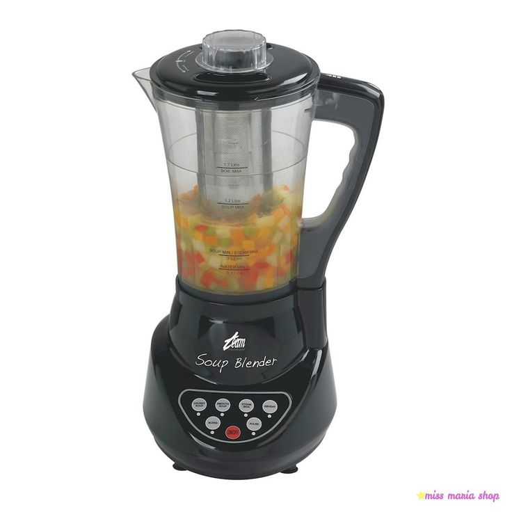 Electric Soup Maker Baby Food Blender Liquidiser Chopper Mixer One Touch Easy