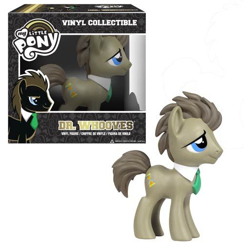 Dr. Whooves Vinyl Figure - The Doctor Who My Little Pony Is Now An Official Toy