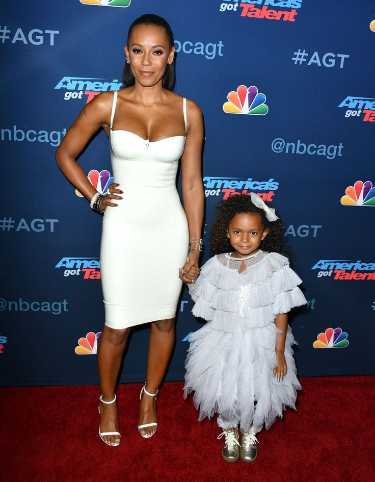 Mel B's Little Girl Steals the Spotlight on the Red Carpet in LA