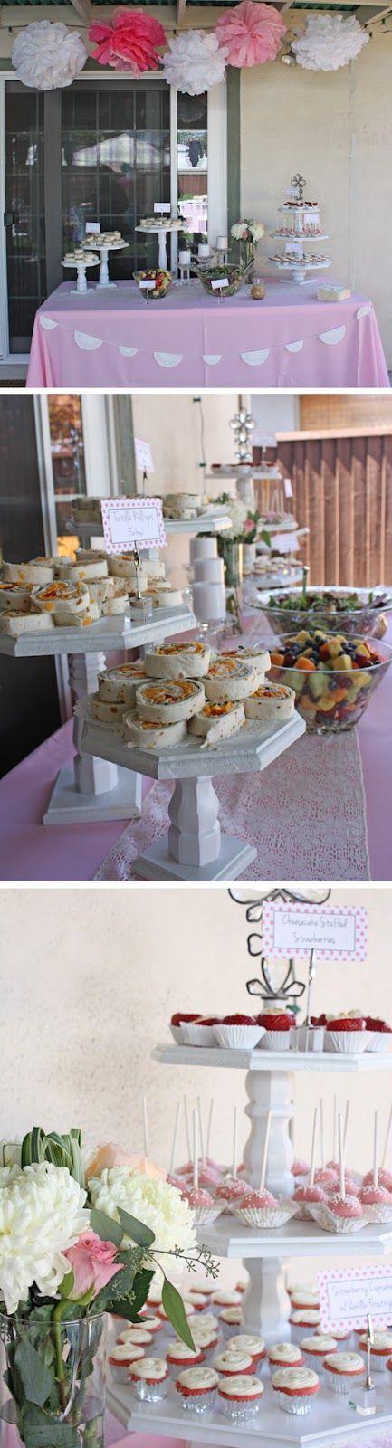 food tiered finger foods gender shower bridal showers baby shower