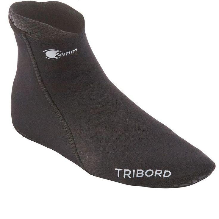 9,99€ - Plongee_Isolation thermique - Chaussons plongée Hanka 2mm - TRIBORD