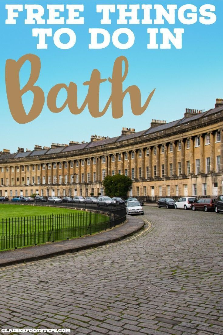 free things to do in bath