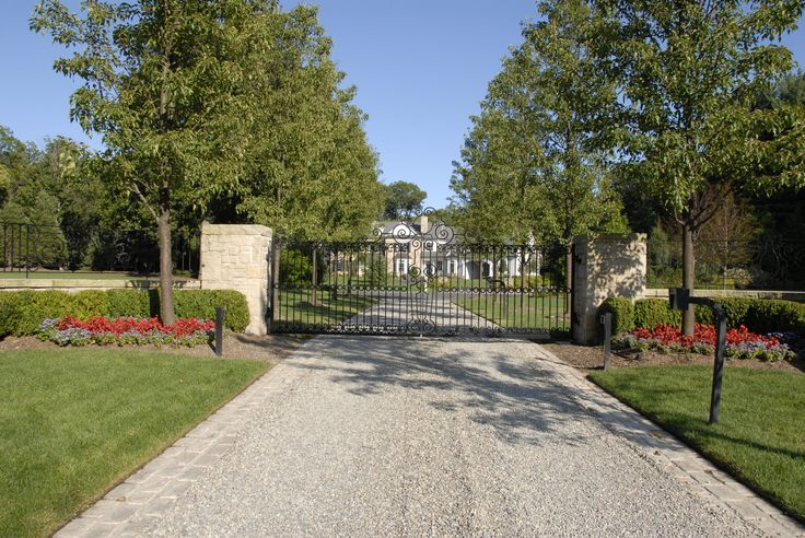 Limestone Tar And Chip Google Search Driveways Gates