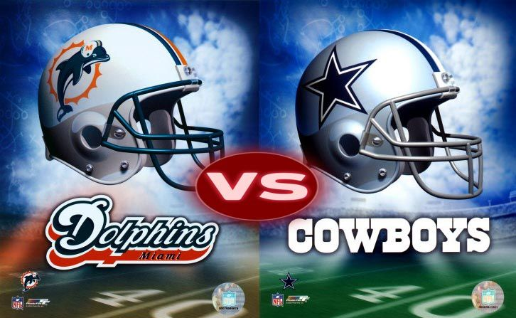 dolphins vs vs cowboys game live online