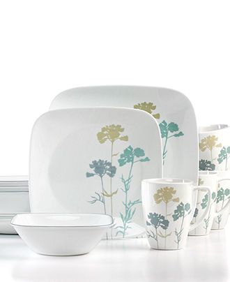 Corelle Dinnerware, Paper Shadows 16-Piece Set - Casual Dinnerware - Dining & Entertaining - Macy's