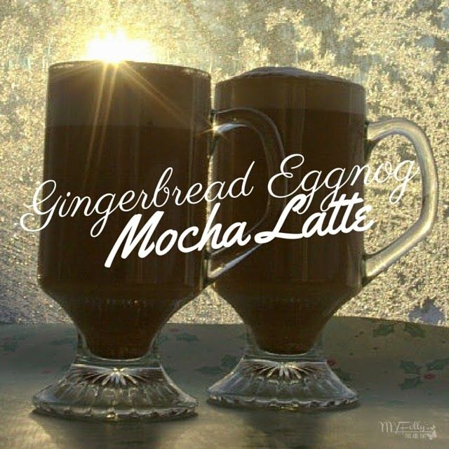 Gingerbread Eggnog Mocha Latte…aka the Kitchen Sink Latte