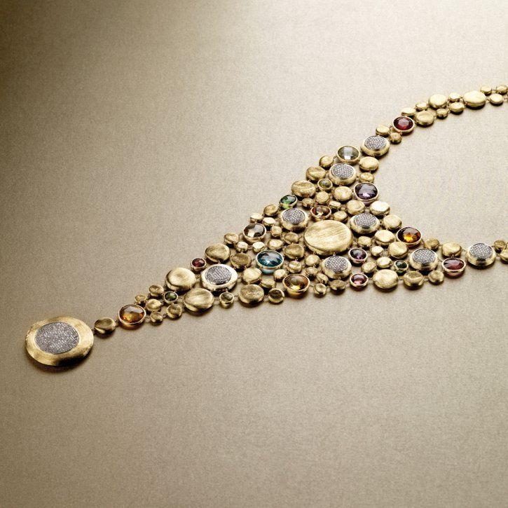 Jaipur bib necklace by MARCO BICEGO-ITALIA http://www.marcobicego.com/en/
